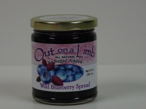 No Sugar Added Blueberry Spread