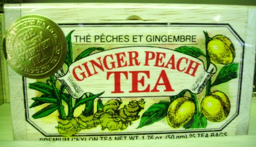 Ginger Peach Tea 25 Count