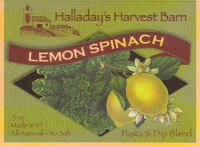 Lemon Spinach Dip Mix